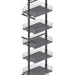 Maxima SILVA Cargo midi dolne 400 grafit to idealna propozycja do zabudowy szafek kuchennych. Półki z pełnym dnem z płyty MDF będą idealnym rozwiązaniem...