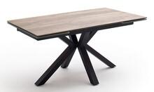 Stół rozkładany NAGANO 160(240)x90 - stelaż czarny mat