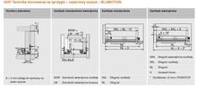 Prowadnice do szuflad Prowadnica TANDEM Z HAMULCEM 550F dł.65 cm Częściowy Wysuw Blum - Blum