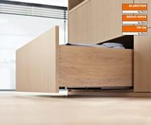 Prowadnice do szuflad Prowadnica TANDEM TIP-ON 560F dł.35 cm 100% Wysuw Blum - Blum