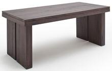 Stół drewniany DUBLIN - dąb lity postarzany