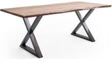 Stół drewniany CALABRIA z blatem 3.5 cm - natur