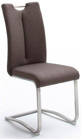 Krzesło z uchwytem ARTOS - tkanina brązowa