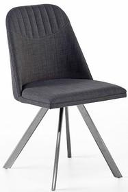 Krzesło obrotowe ELARA A - szary/nogi skośne