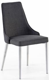 Krzesło ELARA B - szary/nogi proste