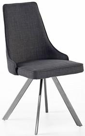 Krzesło obrotowe ELARA B - szary/nogi skośne