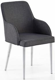 Krzesło ELARA C - szary/nogi proste