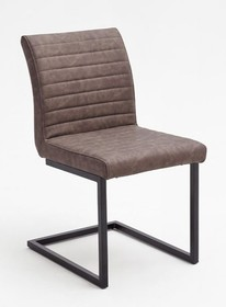 Krzesło KIAN A - vintage brąz