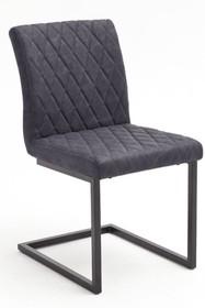 Krzesło KIAN B - vintage szary