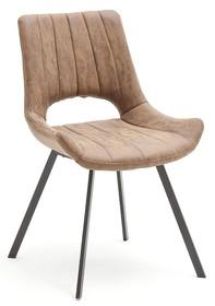 Krzesło tapicerowane OLYMPIA - cappuccino