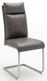Krzesło tapicerowane PIA - antik szary