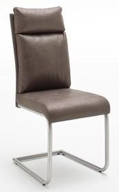 Krzesło tapicerowane PIA - antik brąz