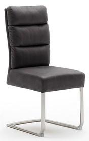 Krzesło ROCHESTER E - antik szary/stal