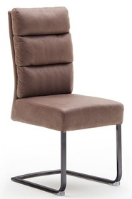Krzesło ROCHESTER S - antik cappuccino/czarny mat