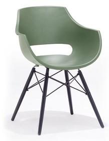 Krzesło ROCKVILLE - zielony