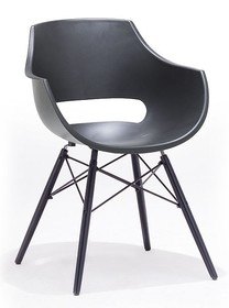 Krzesło ROCKVILLE - szary
