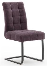 Krzesło plamoodporne SALTA - bordowy