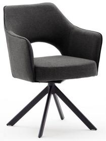 Krzesło obrotowe TONALA S - antracyt/czarny mat