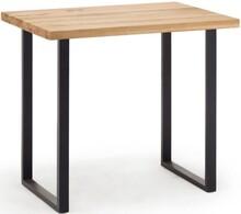 Stół barowy CASTELLO - dąb dziki/antracyt mat
