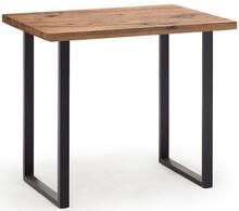 Stół barowy CASTELLO - dąb bassano/antracyt mat