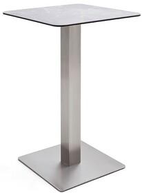 Kwadratowy stolik barowy ZARINA 2 - jasnoszary