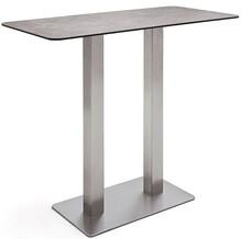 Prostokątny stół barowy ZARINA 3 - mokka
