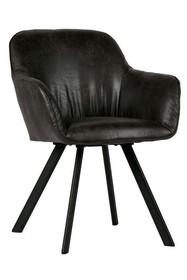 Zestaw 2 krzeseł VIGGO - czarne