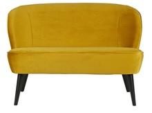 Sofa SARA - aksamit / ochra