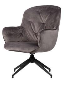 Fotel ELAINE - antracytowy