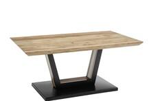 Ława drewniana BEDFORD 110x70 - drewno akacjowe