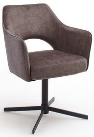 Krzesło obrotowe na sprężynach VALETTA - cappuccino