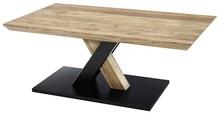 Stolik drewniany MAVERICK 110x70 - lita akacja