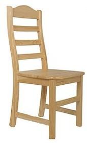 Krzesło z oparciem sosnowe MODEL A