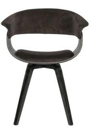 Krzesło CATCH - velvet brązowy