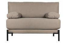 Ławka/ sofa SLEEVE canvas mauve