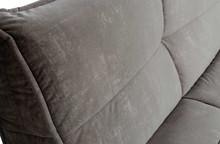 Sofa CLUSTER 3-seater velvet iron