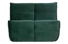 Sofa CLUSTER 1-seater velvet green