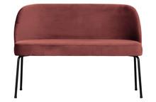 Ławka/sofa VOGUE Velvet chestnut