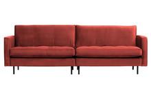 Sofa RODEO CLASSIC 3-seater velvet chestnut