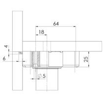 Systemy cokołowe NÓŻKA-MEBLOWA-REGULOWANA-EV-S-85MM 350 KG - Würth