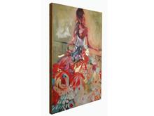 Obraz kobieta w sukni JWE0415 90x120 cm