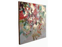 Obraz abstrakcyjny JWE0439 120x120 cm
