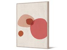 Obraz abstrakcyjny TOIR22593 102x142 cm - pastelowy