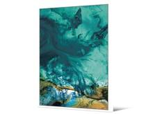 Obraz morski abstrakcyjny TOIG22583 104x144 cm