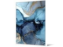 Obraz akwarela TOIF23239 62x92 cm - niebieski