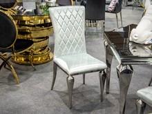Krzesło welurowe FT190-1 - szary