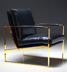 Fotel elegancki Y-1010 - złoty