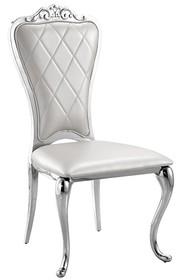Krzesło glamour FT168A - srebrny