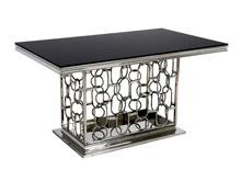 Stół stalowy TH522 150x90 - czarny