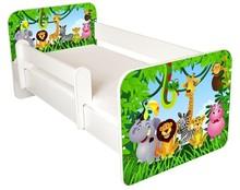 Łóżko dziecięce z barierką IGOR 1 - zoo